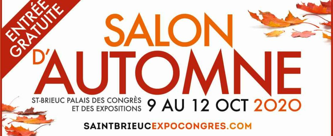 WEEK-END SALON DE L'IMMOBILIER à Saint-Brieuc du 9 au 12 octobre 2020
